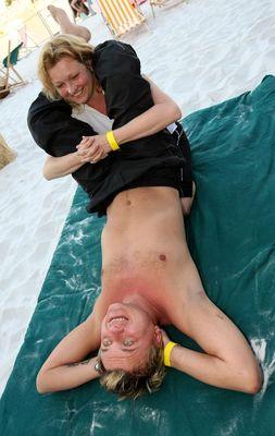 expert masáž vyskočil